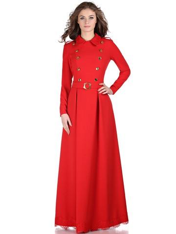 Платье bianka, цвет красный