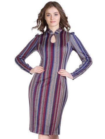 Платье josefa, цвет сине-бордовый