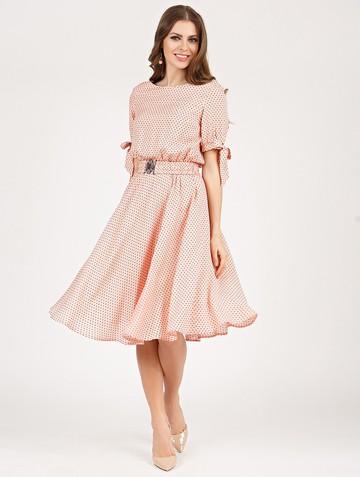 Платье alika, цвет розовый