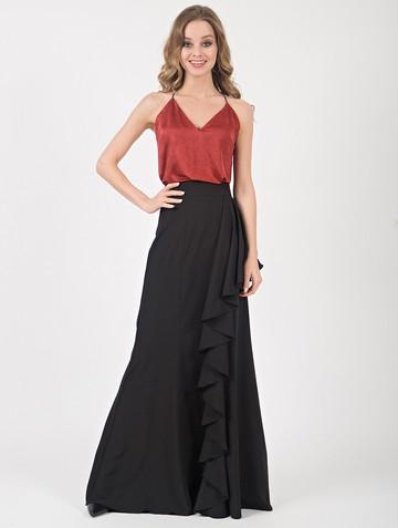 Юбка roza, цвет черный