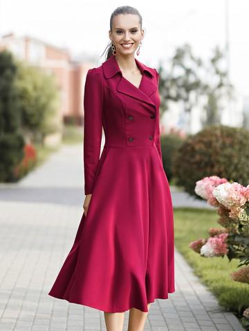 Платье medina, цвет рубиновый