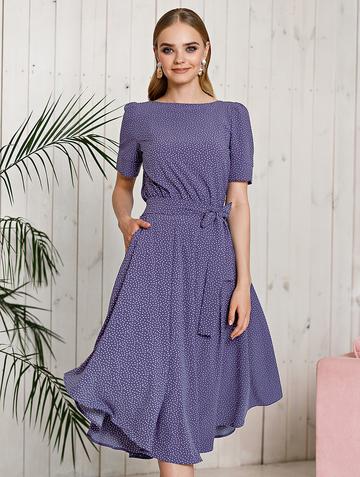 Платье allia, цвет индиго