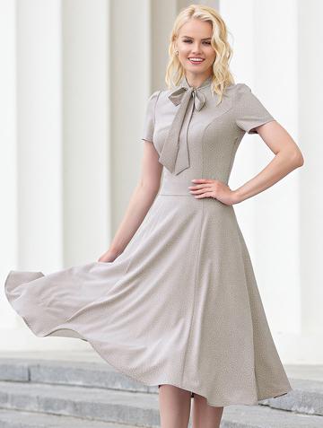 Платье donaldina, цвет серый