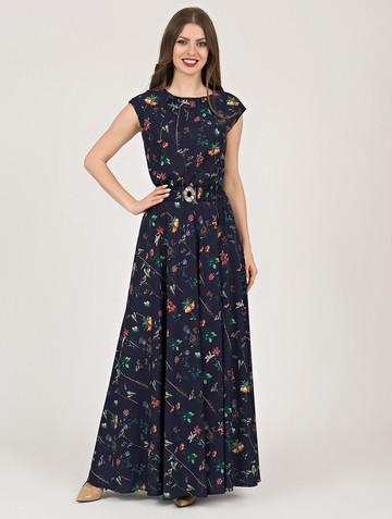 Платье vista, цвет темно-синий
