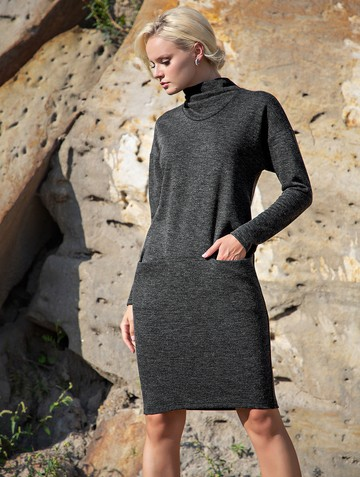 Платье tabby, цвет черный