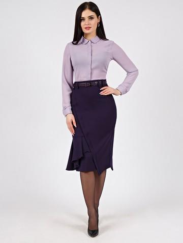 Юбка virinea, цвет темно-фиолетовый