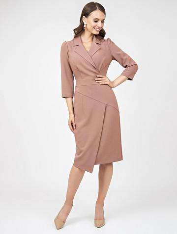 Платье normy, цвет пудровый