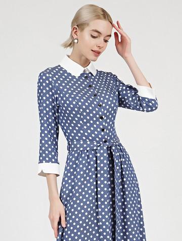 Платье kibbly, цвет синий