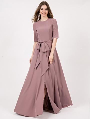 Платье eberlline, цвет серо-лиловый