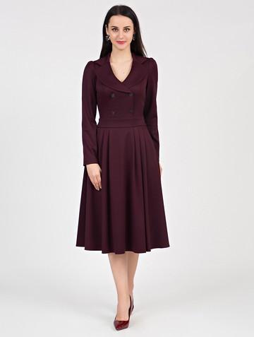 Платье anissa, цвет бордовый