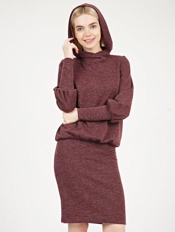 Платье midjy, цвет бордовый