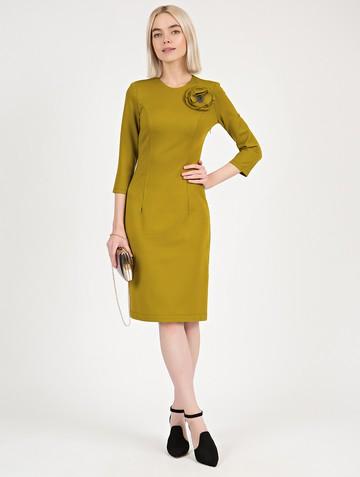 Платье ponty, цвет оливковый