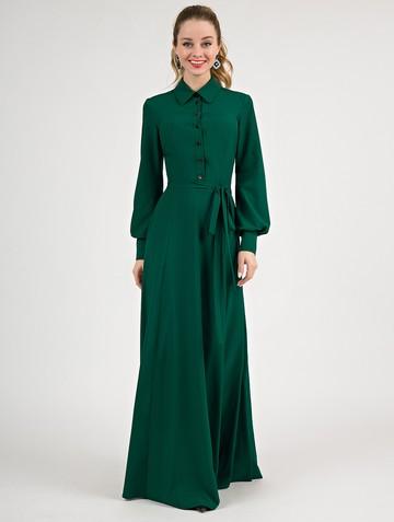 Платье labella, цвет изумрудный
