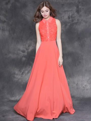 Платье raily, цвет коралловый