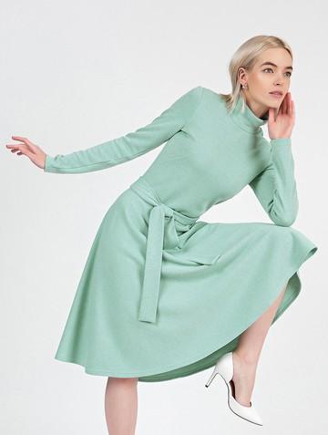 Платье lady, цвет мятный
