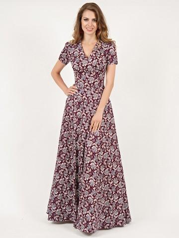 Платье mervin, цвет бордовый