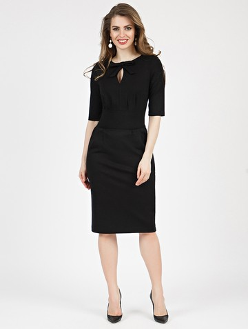 Платье brisby, цвет черный