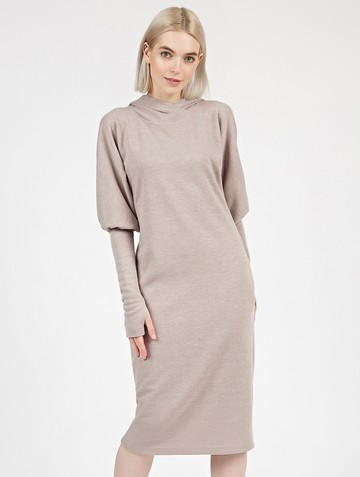 Платье lipty, цвет бежевый