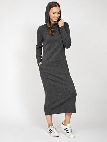 Платье duncan, цвет антрацитовый