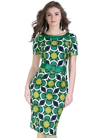 Платье fiona, цвет бирюзовый