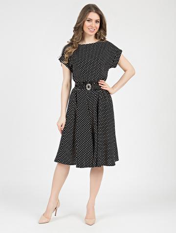 Платье lanty, цвет черно-бежевый