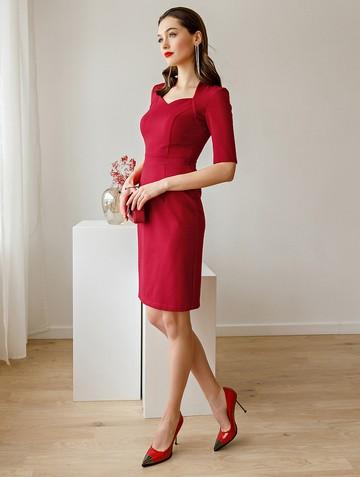 Платье tilly, цвет красный