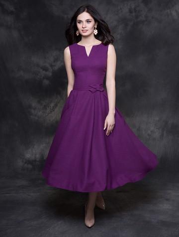 Платье neveda, цвет темно-фиолетовый