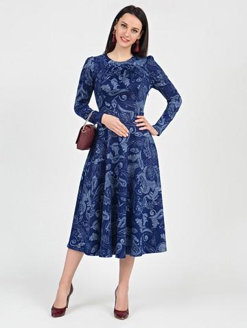 Платье agnetta, цвет синий
