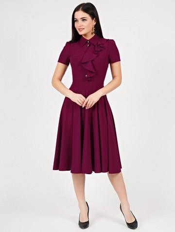 Платье lakry, цвет сливовый