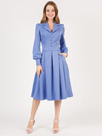 Платье dalva, цвет голубой