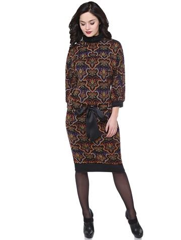 Платье sangria, цвет черно-фиолетовый