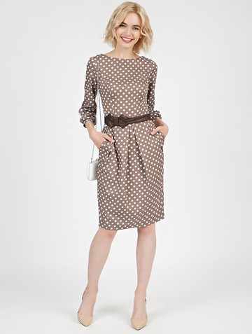 Платье dayan, цвет капучино