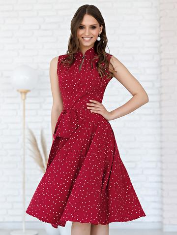 Платье diega, цвет бордовый