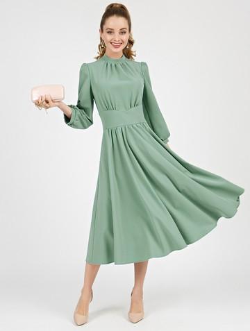 Платье nalva, цвет ментоловый