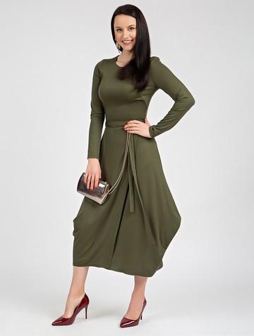 Платье marena, цвет хаки