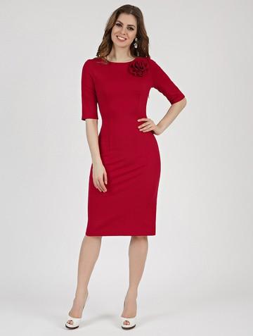 Платье anais, цвет красный