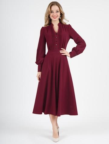 Платье liann, цвет бордовый
