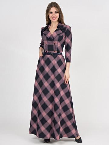 Платье lafetta, цвет лилово-черный
