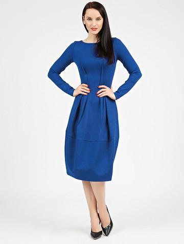 Платье nona, цвет ультрамарин