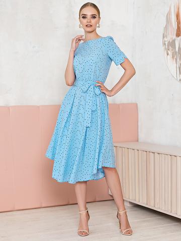 Платье allia, цвет голубой