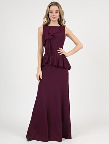 Платье kassia, цвет спелая слива