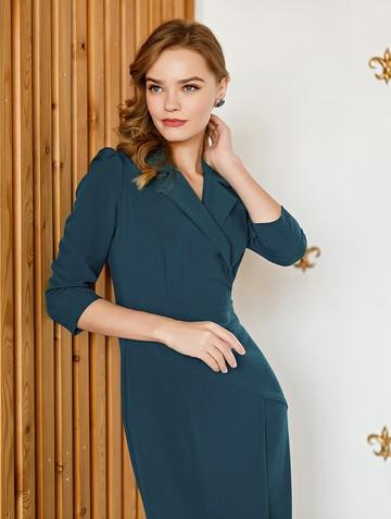 Платье normy, цвет сине-бирюзовый