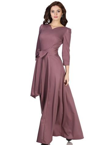Платье mia, цвет сливовый