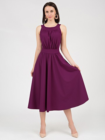 Платье inara, цвет сливовый