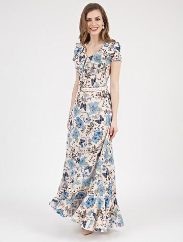 Платье heilis, цвет персиковый