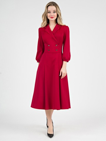 Платье uliana, цвет красный