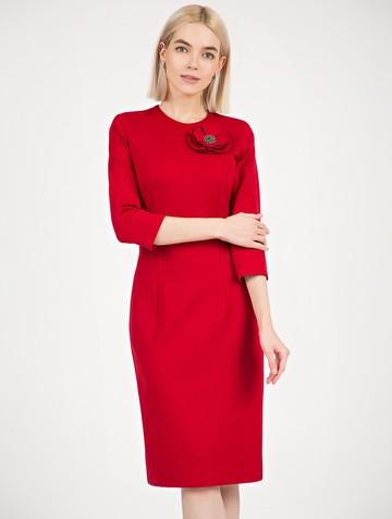 Платье ponty, цвет красный
