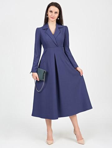 Платье estel, цвет синий