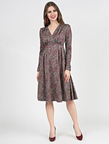 Платье allin, цвет лилово-розовый