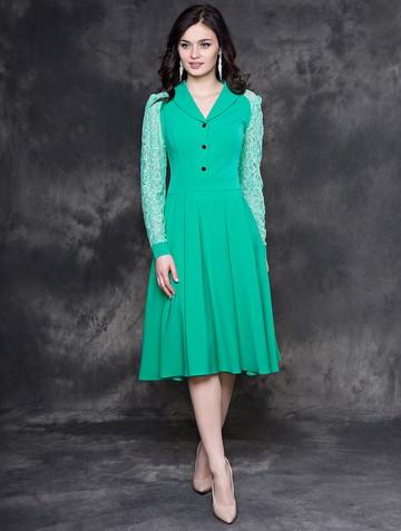 Платье beautty, цвет насыщенно-мятный